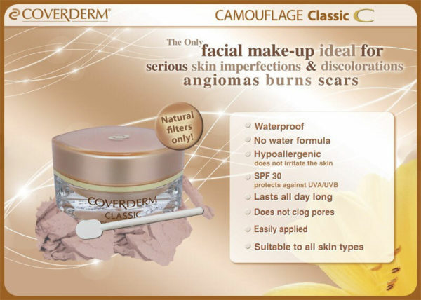 Coverderm Camouflage Classic Info