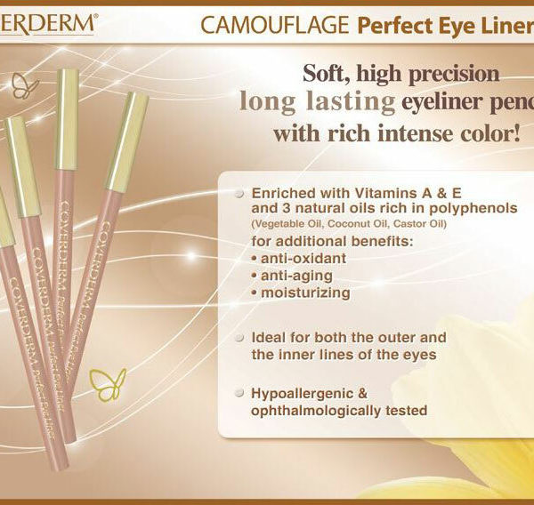 Coverderm Perfect Eye Liner Info
