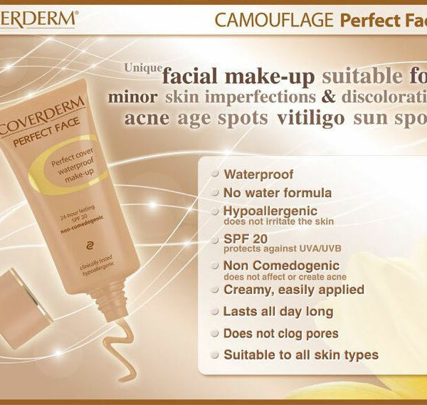 Coverderm Camouflage Perfect Face Info