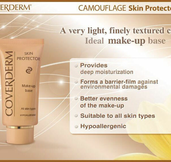 Coverderm Camouflage Skin Protector Info