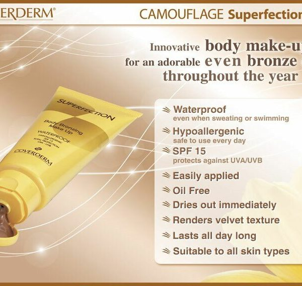 Coverderm Camouflage Superfection Info