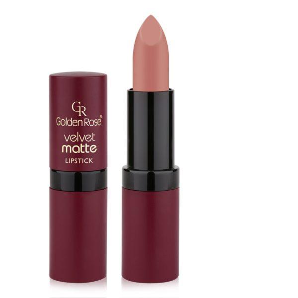 GoldenRose Velvet Matte Lipstick 01