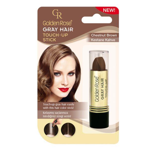 GoldenRose Grey Hair Touch-up Stick - Light Brown