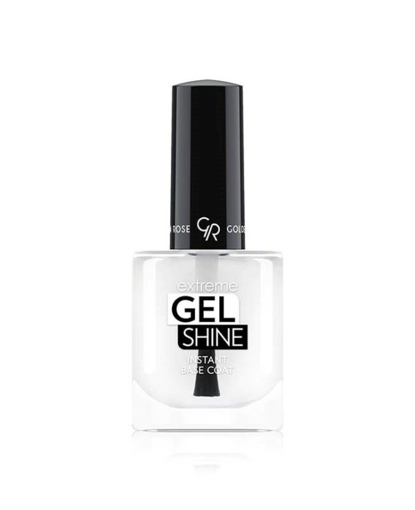 Ultra-fast drying Instant Base Coat acting like a primer for nail color and giving perfect preparation for gel-look finish, more uniform application and long lasting result