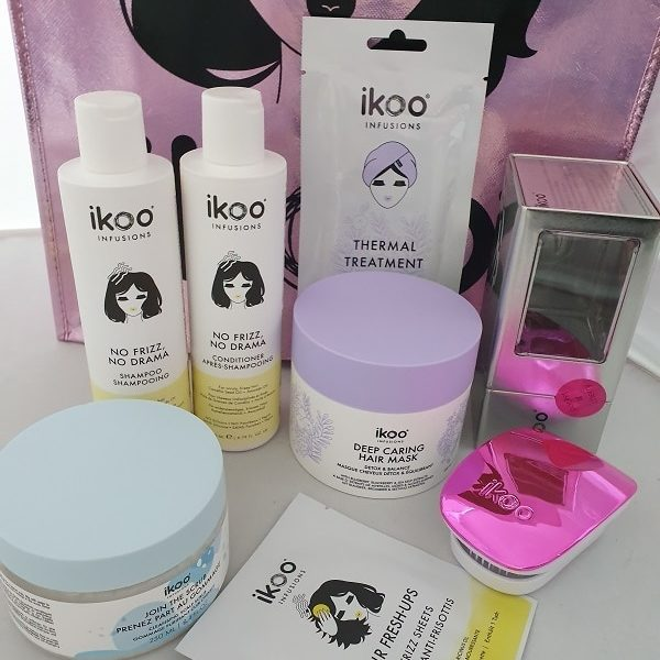 Ikoo Complete Anti Frizz Hair kit No 1