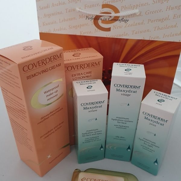 Coverderm Maxydrat skin care kit - for dehydrated oily skin