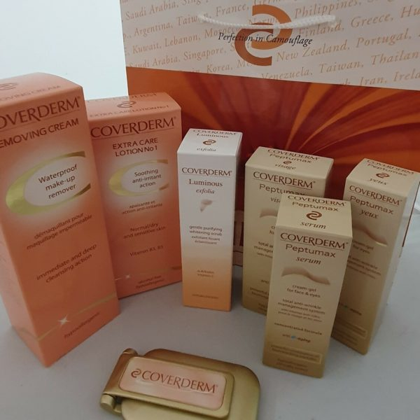 Coverderm Peptumax Anti-Aging skin care kit No.1