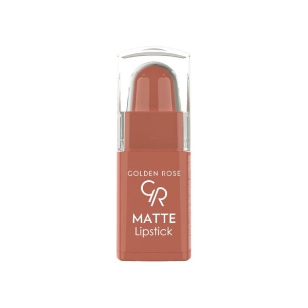 Matte Lipstick (Mini) can be easily carried anywhere with their new and practical packaging. It creates matte, natural, velvety  finish on the lips with its high pigmented  formula which contains moisturising agents and Vitamin E.