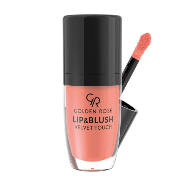 2 in 1 creamy formula that can be used on both lips and cheeks for a soft matte flush. The silky whipped cream texture creates charming delicate make up for a natural look with its long lasting coverage
