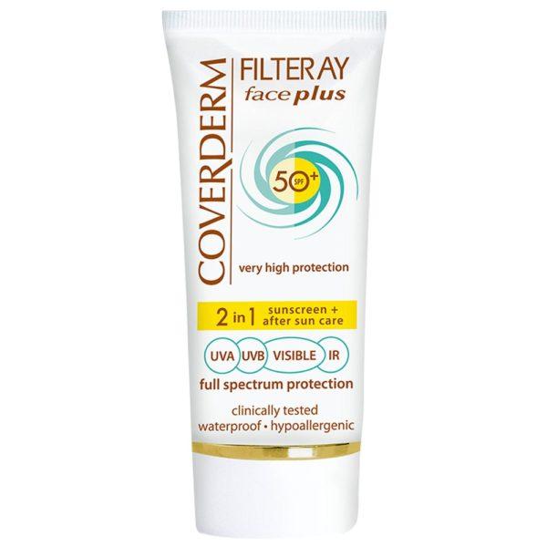 Coverderm Filteray Face sunscreen spf 50+ Oily Acneic