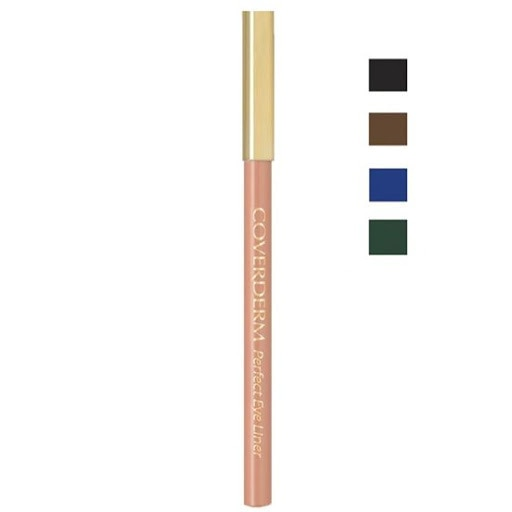 Coverderm Perfect Eye Liner is a soft eyeliner pencil, to render high precision, long-lasting contouring of the eyes with rich, intense colour. Ideal for both the outer and the inner lines of the eye. Enriched with Vitamin A and E and 3 natural oils for additional anti-oxidant, anti-aging and moisturizing benefits