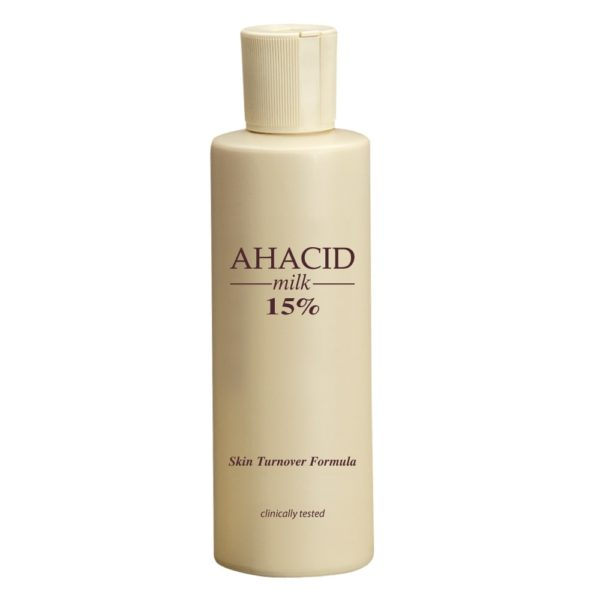 AHACID – skin turnover formula is the solution to the following skin conditions:Photo – agingPigmentationAcneWrinklesPsoriasisVerrucae Vulgaris ( warts)Dry, non elastic skinSeborrheic dermatitisdandruffIMPORTANT : THIS PRODUCT IS TO BE USED ONLY DURING THE EVENING