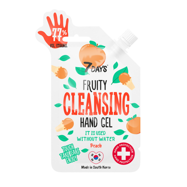 7 Days Fruity Hand Cleansing Gel