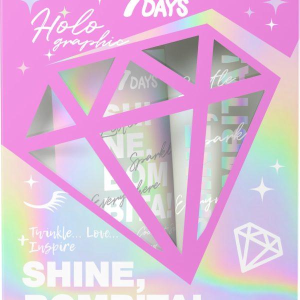 Shine Bombita Holo Shimmering Coconut Scrub & Shimmering body Milk Gift set