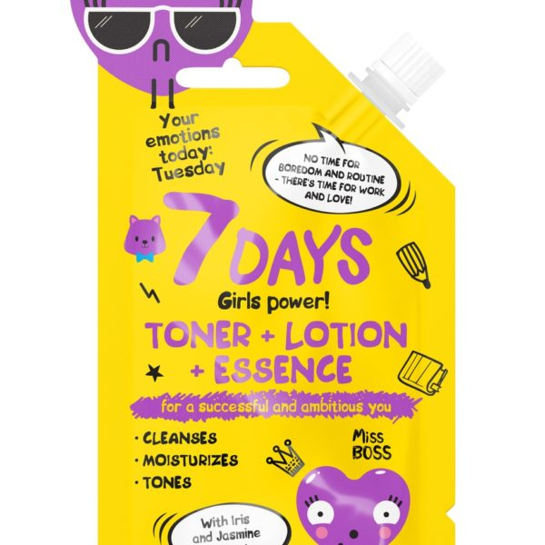7 DAYS Emotions Today Toner + Lotion + Essence