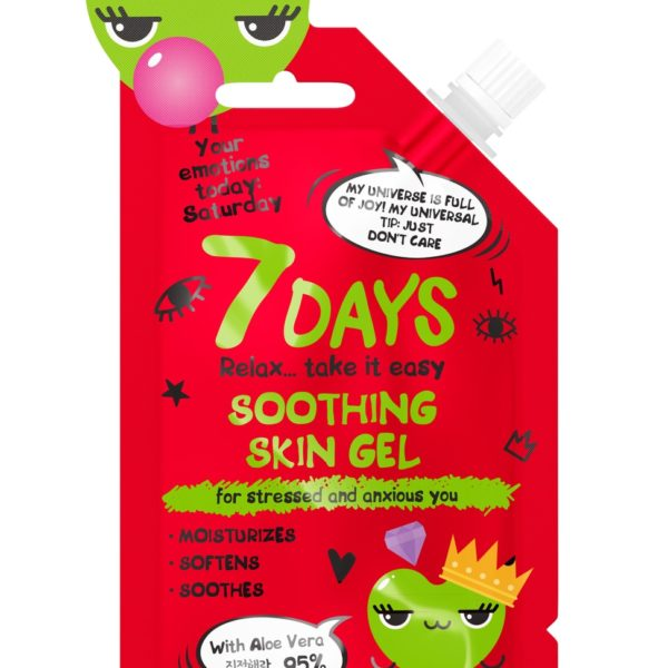 7DAYS Soothing Skin Gel for stressed and anxious you