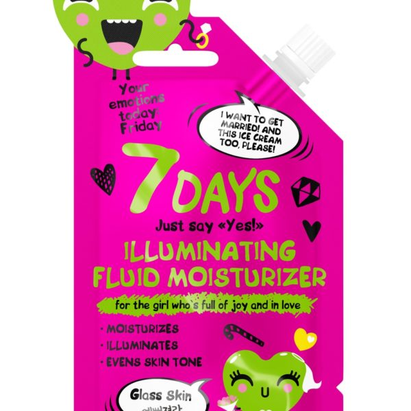 7DAYS Illuminating Fluid Moisturizer for the girl who is full of joy and in love
