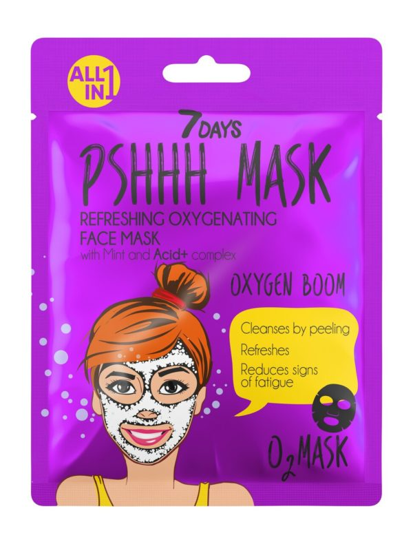 7 DAYS Pshhh Face Sheet Mask