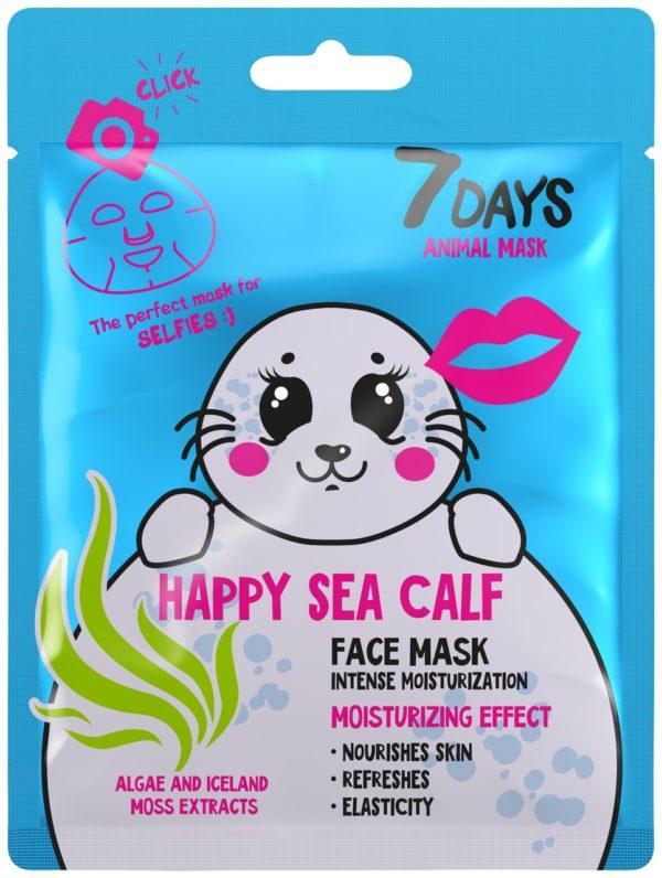 7 DAYS Animal Face Sheet Mask
