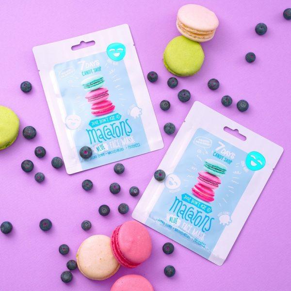 Candy shop Beauty Face mask Macarons