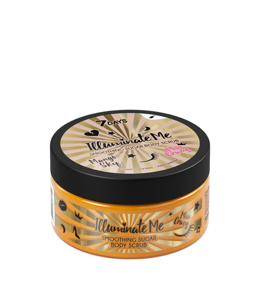 Shimmering cane sugar crystals combine with fine mineral abrasives to gently cleanse your skin, leaving it gorgeously silky and smooth. The scrub removes impurities, reduces keratinous areas, and combats flaking