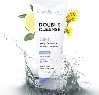 2 in 1 Facial Foam Cleanser   Witch Hazel + Lemon + Green Tea Upgraded packaging, same fan-favorite formula!