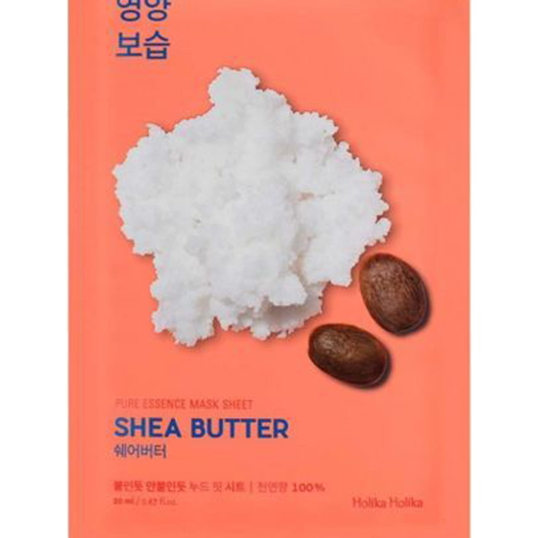 Nourishing sheet mask with shea butter - a real nutrient charge for your skin. If you are looking for the ideal product to nourish the skin, especially during autumn and winter, this is what you need. With this sheet mask the skin will be moisturized and radiant. The mask has an ultra thin basis that provides a tight contact with the skin and a better penetration of useful components in sheet mask