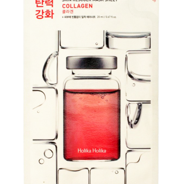 Lifting sheet mask with hydrolyzed collagen restores skin elasticity. It returns softness to the skin and reduces wrinkles. In addition, collagen returns the brightness of the skin tone and nourishes it with vitamins and minerals. Refreshes and restores a healthy radiant complexion. The mask has an ultra thin basis that provides a tight contact with the skin and a better penetration of useful components in sheet mask