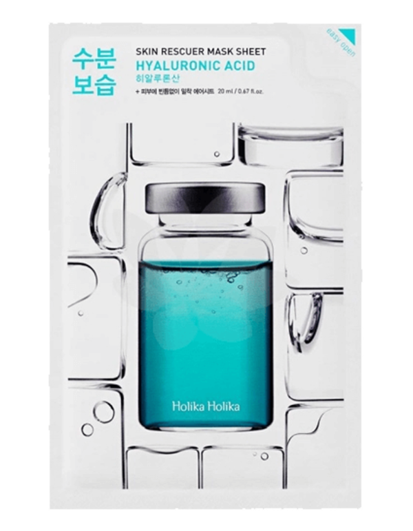 Moisturizing sheet mask with hyaluronic acid - a real tsunami for the skin. Suitable for all skin types, it returns elasticity and smoothness to the skin. It helps reduce inflammation, refreshes, softens the skin and reduces wrinkles. The mask has an ultra thin basis that provides a tight contact with the skin and a better penetration of useful components in sheet mask