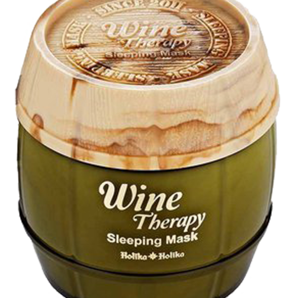 Wine Therapy Sleeping Mask (White Wine) is whitening sleeping pack that makes your skin moist and bright with water drop moisture membrane of white wineBenefits: