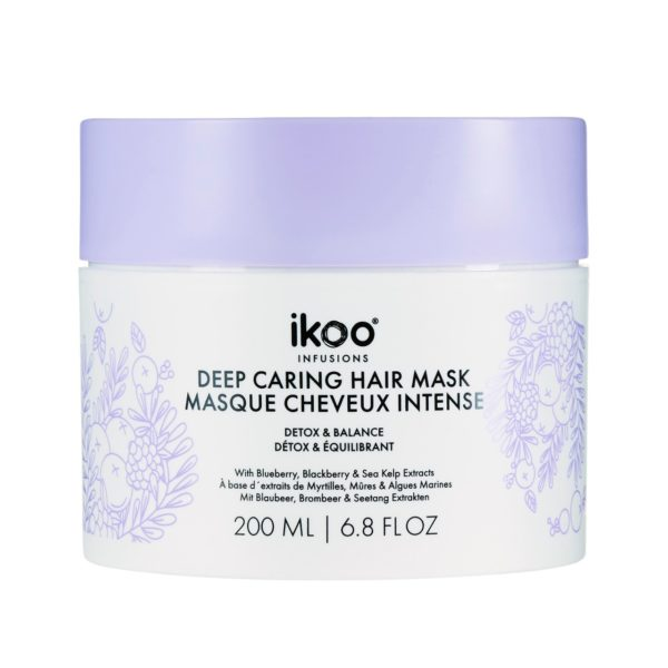 FOR EXCESSIVELY DAMAGED HAIR Smoothie for the hairFor hair spoiled by excessive treatments, our mask is the one-time-fix. The infusion of blueberry, blackberry, and sea kelp assist in detoxing and returning balance to the hair while strengthening to prevent breakage