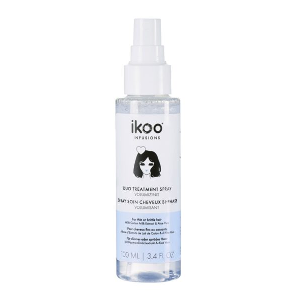 FOR THIN FLAT HAIRFor a radiant halo.The solution to flat-earthers everywhere. Our Volumizing spray is infused with cotton milk extract that helps to create long-lasting lift while the aloe vera keeps the hair soft and smooth